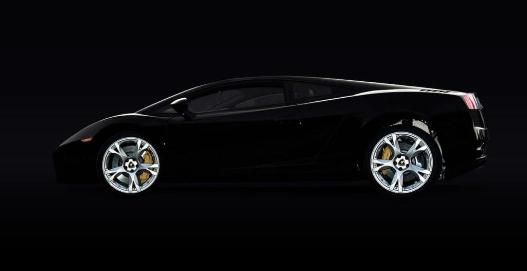 רכב חדש שחור