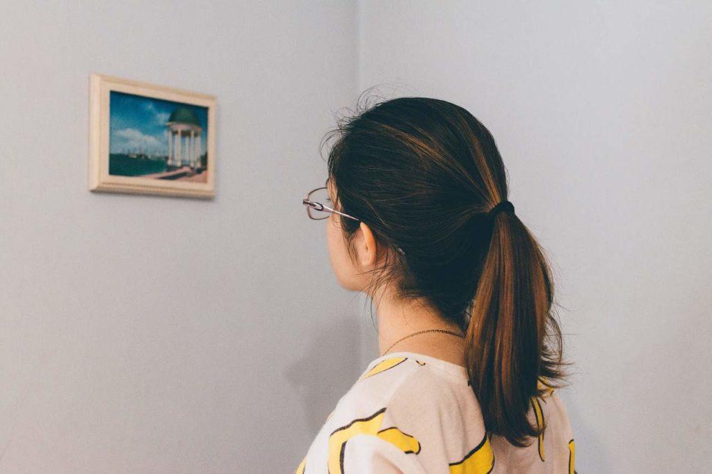 תמונה על הקיר