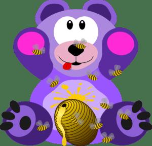 דובי סגול