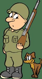 ציור של חייל