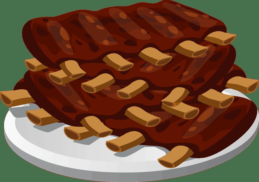 צלחת בשר