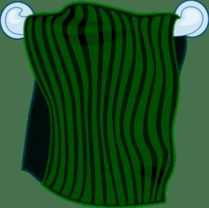 מגבת ירוקה