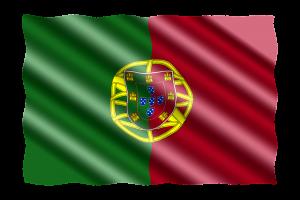 דגל פורטוגל גלי
