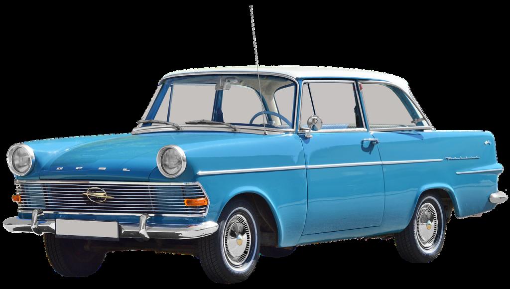 רכב כחול