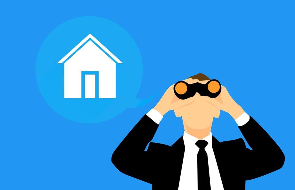 איש מחפש בית