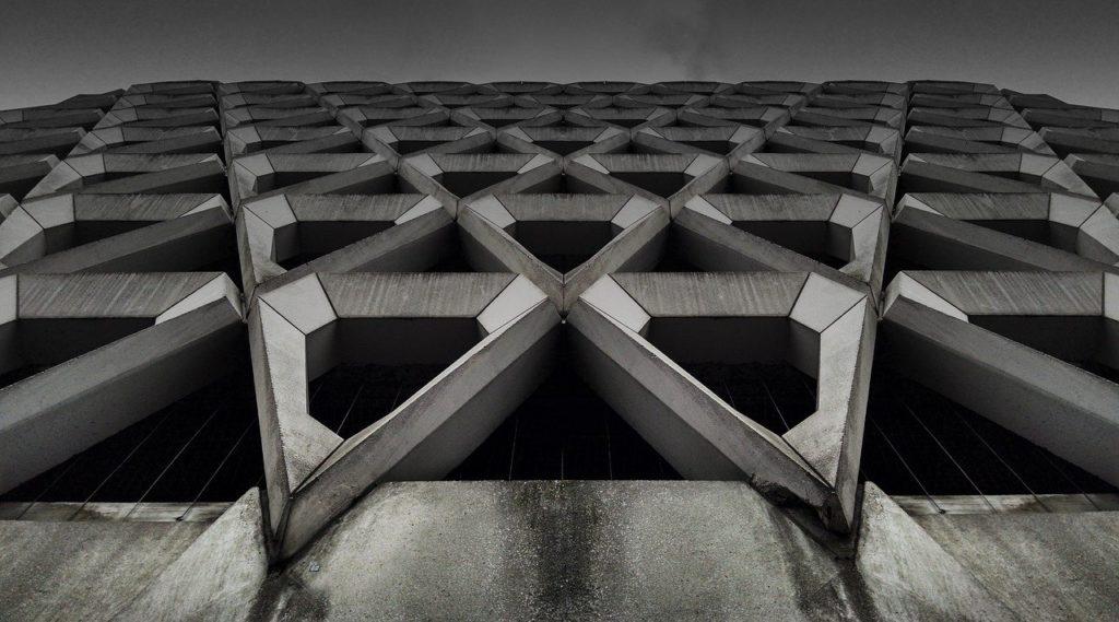חלל מעוצב מבטון